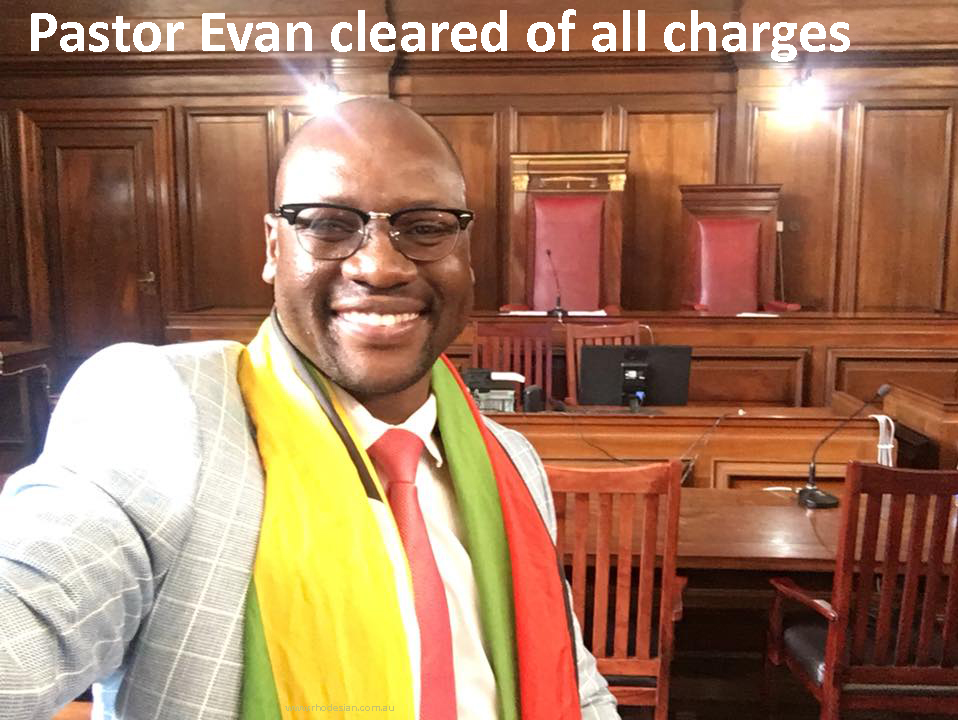 Pastor Evan the leader of the Flag movement has been cleared of all pending charges on 29th Novemebr 2017