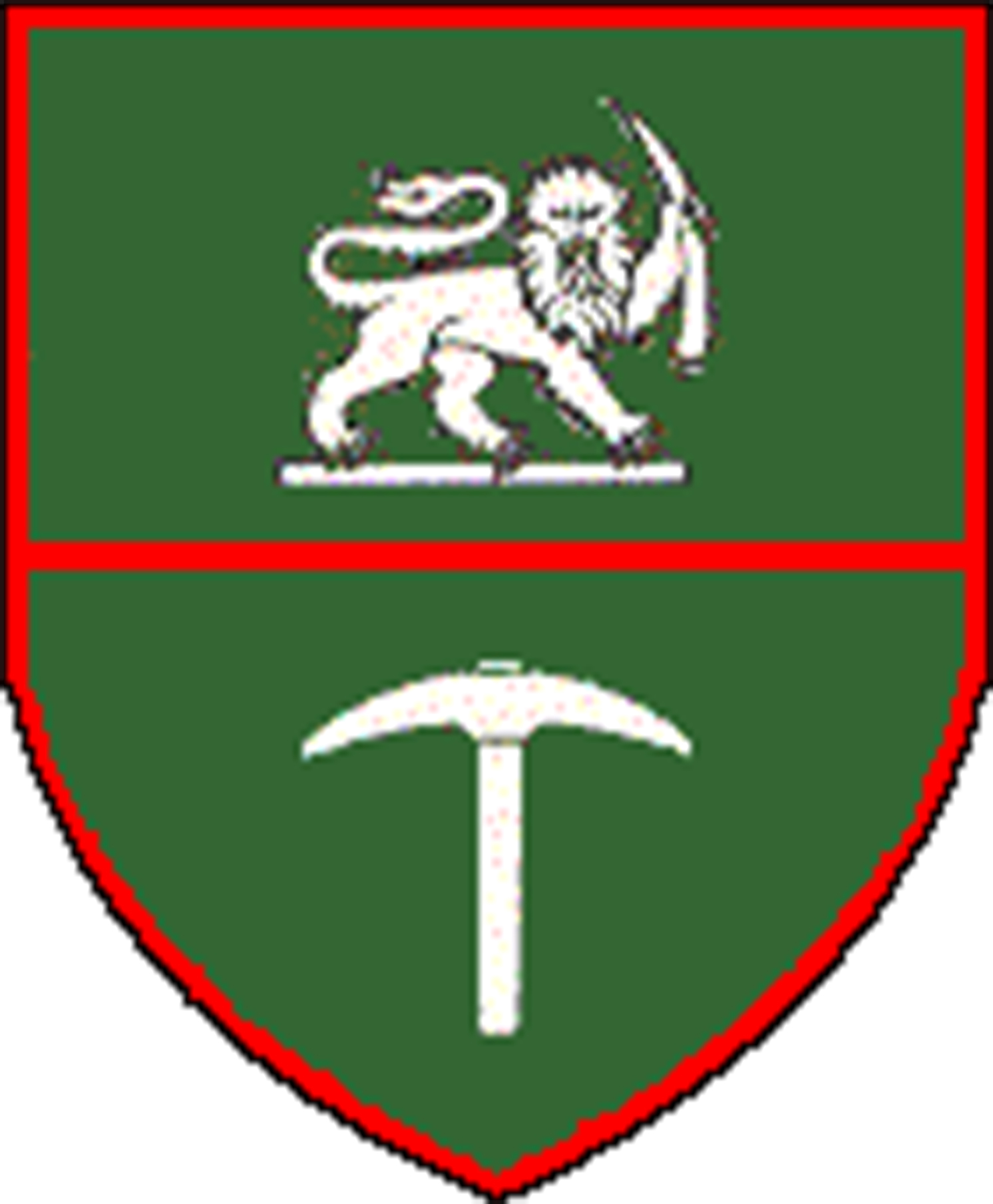 Rhodesian army crest which is the left side of the Rhodesian Army Association logo