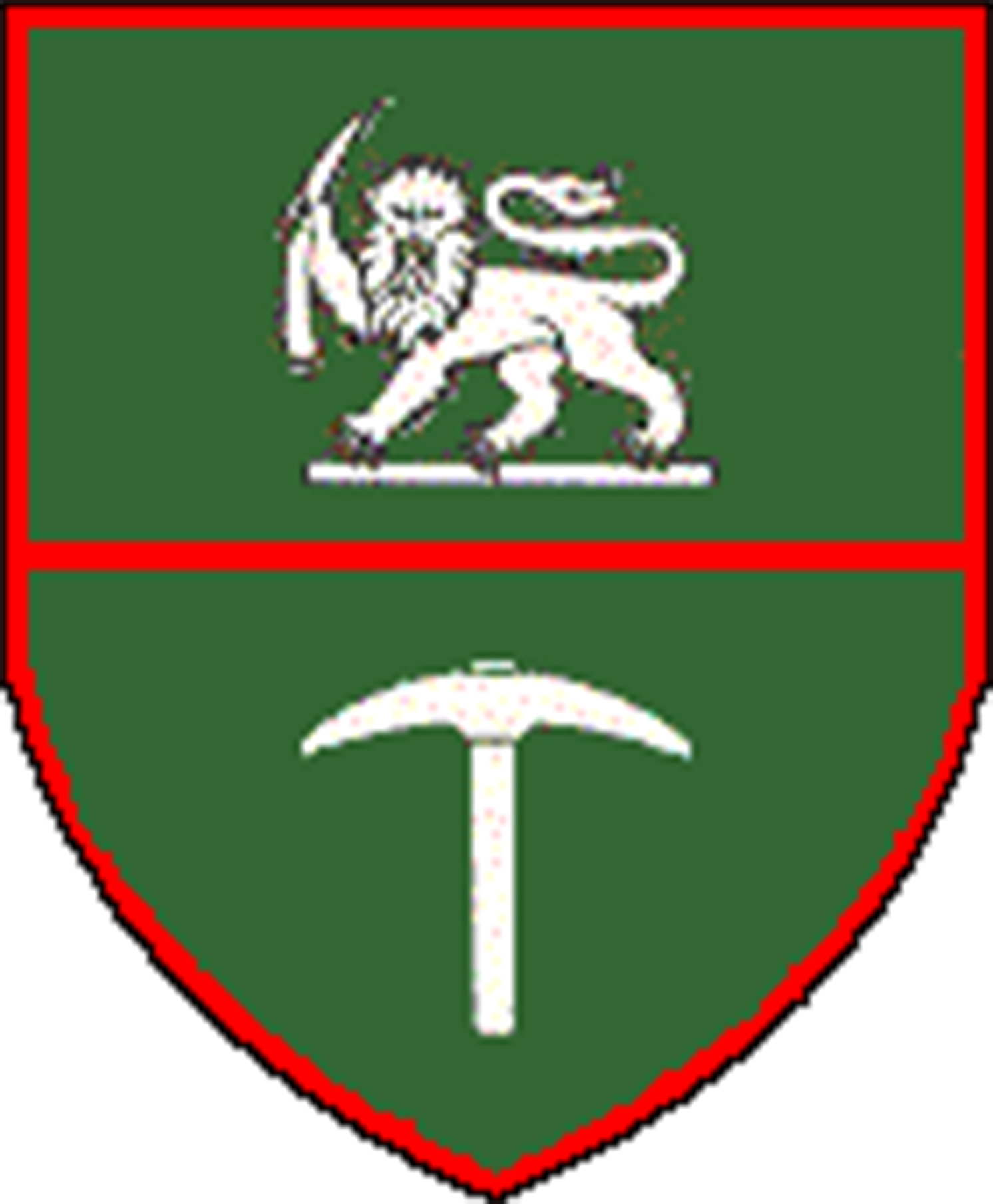 Rhodesian army crest which is the right side logo of the Rhodesia Army Association logo