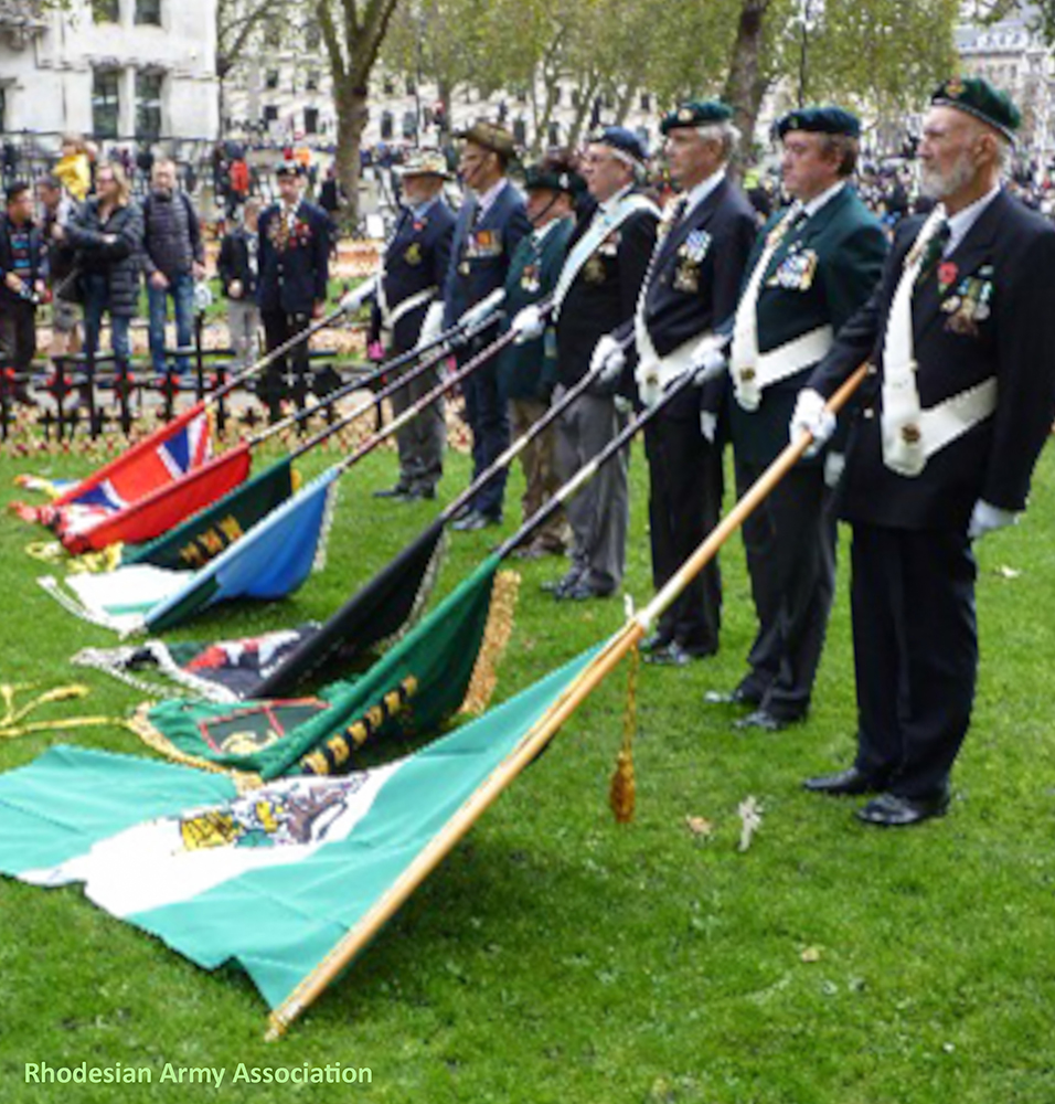 Remembrance Day 2015 Rhodesian Army Association