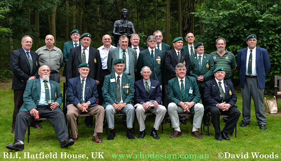 Photograph of RLI at Hatfield House on 6th September 2014