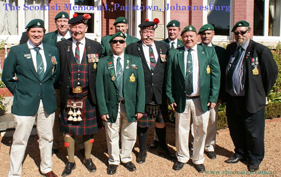 Photo of The Scottish Memorial with RLI at Padstown in Johanesburg South Africa