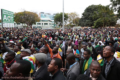 Masses demonstrate in Zimbabwe after failed promises